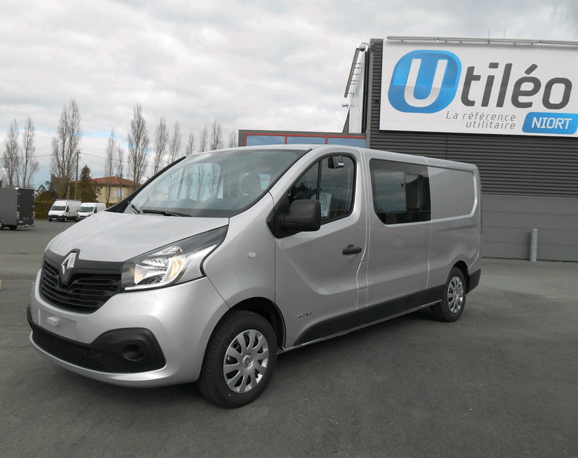 Renault Trafic L2H1 1200 DCI 115 CABINE APPROFONDIE GRAND CONFORT-1