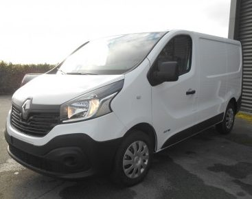 Renault trafic l1h1 cabine approfondie 6 places 120ch grand confort