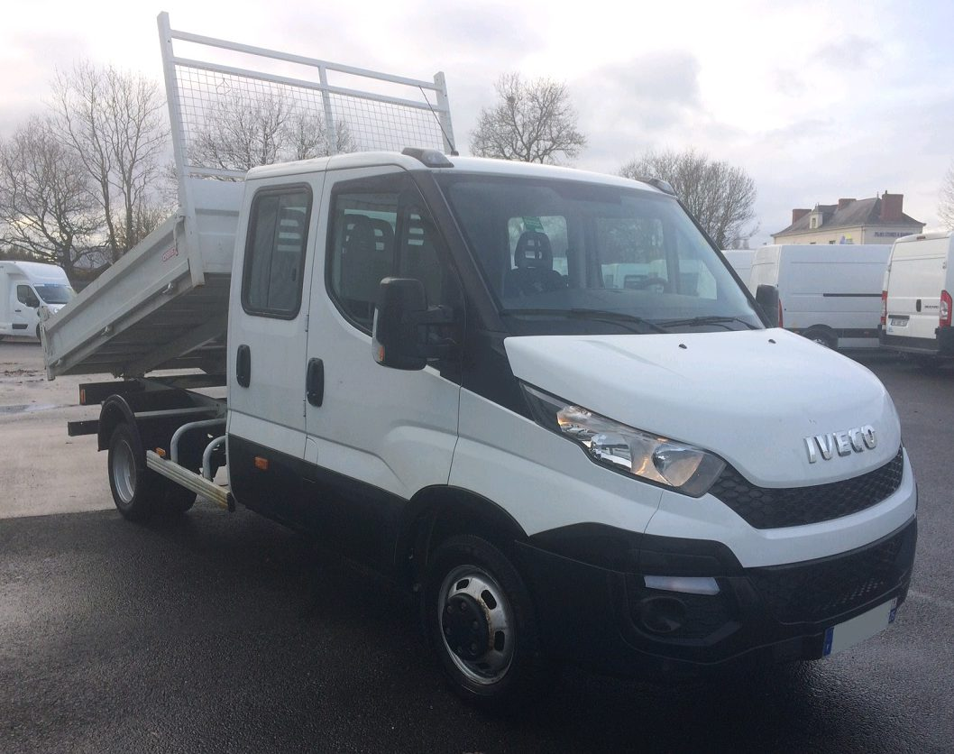 IVECO DAILY CCB 35C13 BENNE DOUBLE CABINE