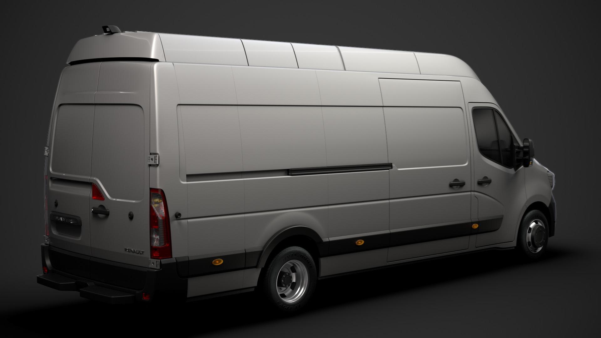 Location d'un utilitaire fourgon maxi surélevé - Renault Master L4H3 15m3 - Vue2