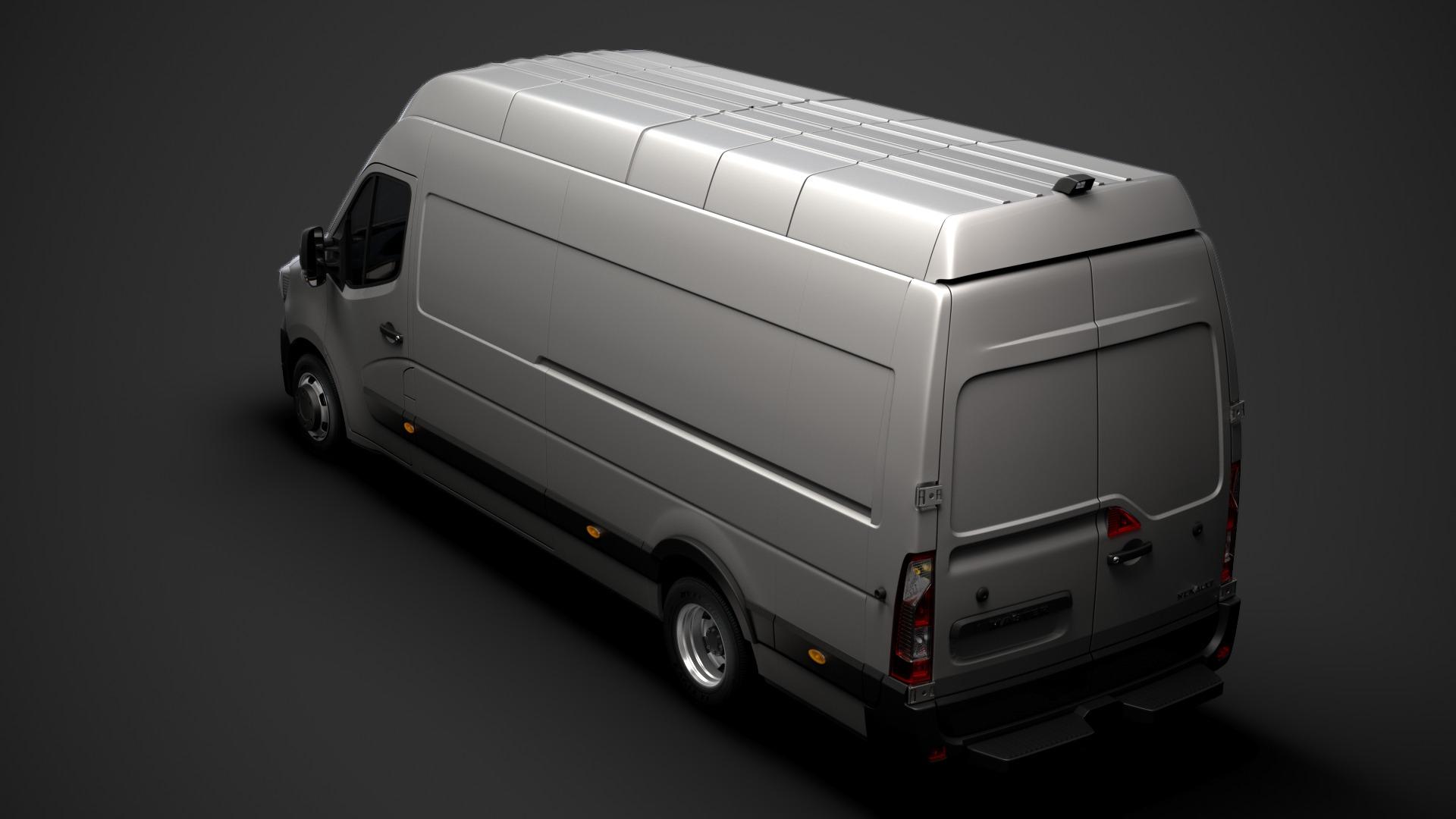 Location d'un utilitaire fourgon maxi surélevé - Renault Master L4H3 15m3 - Vue4