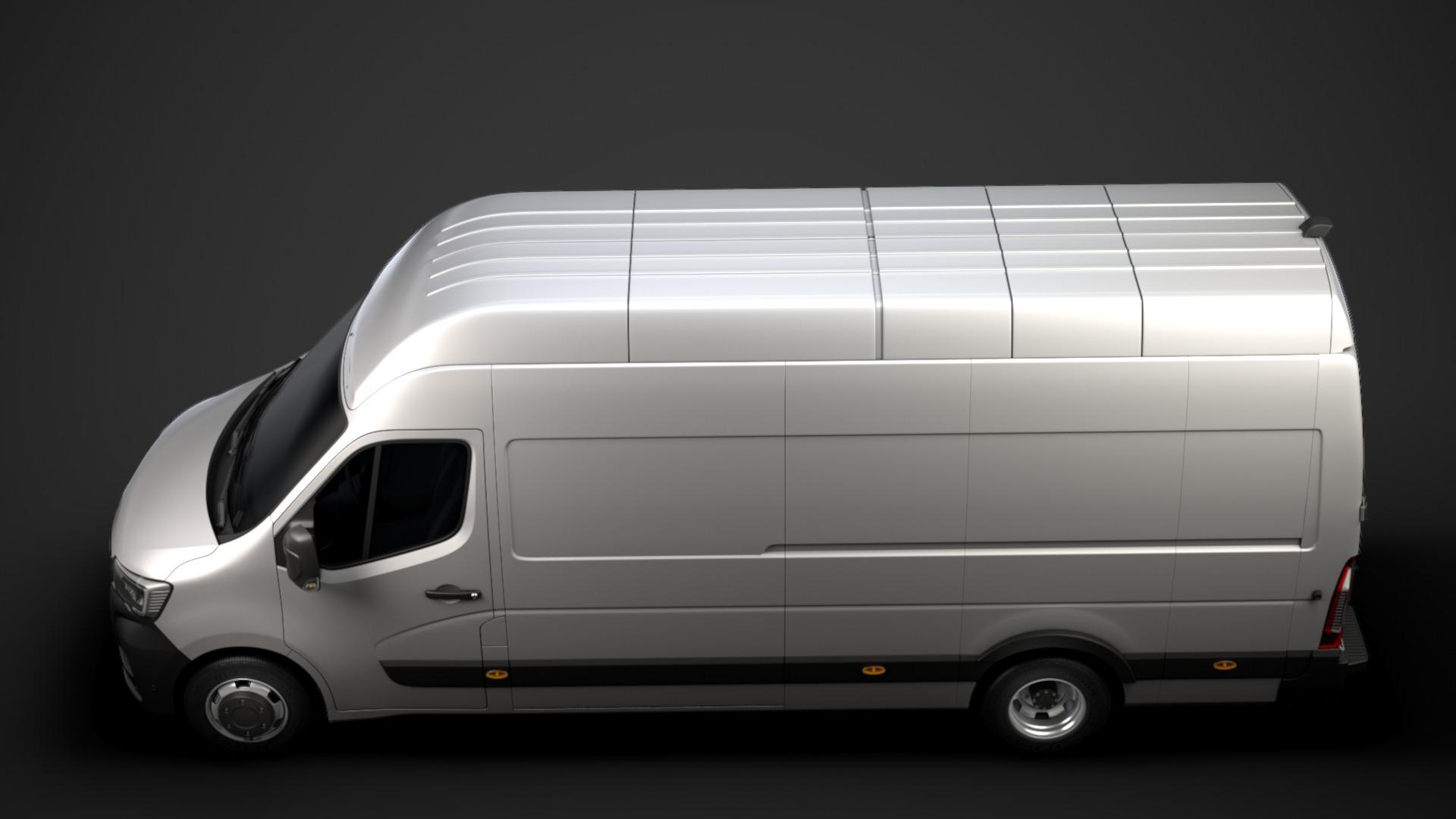 Location d'un utilitaire fourgon maxi surélevé - Renault Master L4H3 15m3 - Vue5