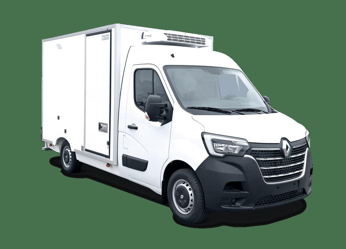 Location d'un utilitaire frigorifique plancher cabine - Renault Master - Vue1