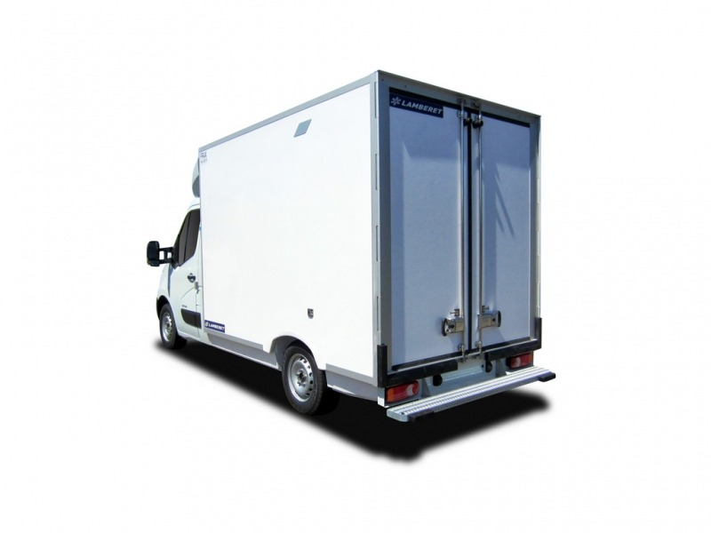 Location d'un utilitaire frigorifique plancher cabine - Renault Master - Vue2