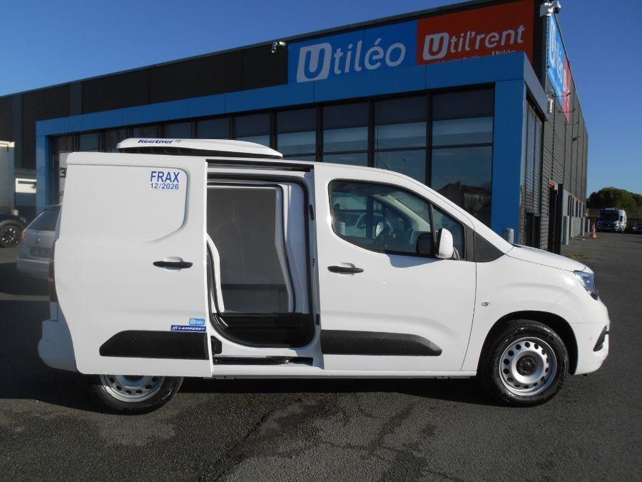 Location d'un utilitaire frigorifique tôlé 3m3 - Opel Combo Cargo Frigo - Vue5