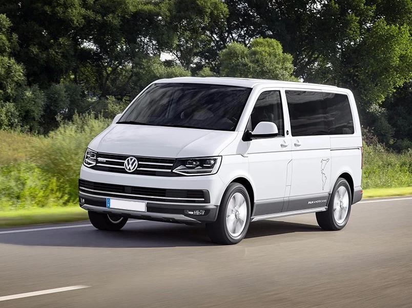 Location d'un utilitaire minibus - Volkswagen Caravelle 9 places - Vue1
