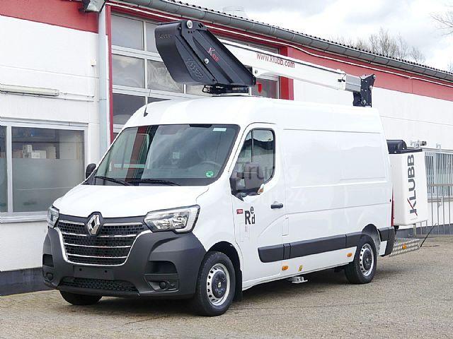 Location d'un utilitaire nacelle - Renault Master Nacelle -Vue1