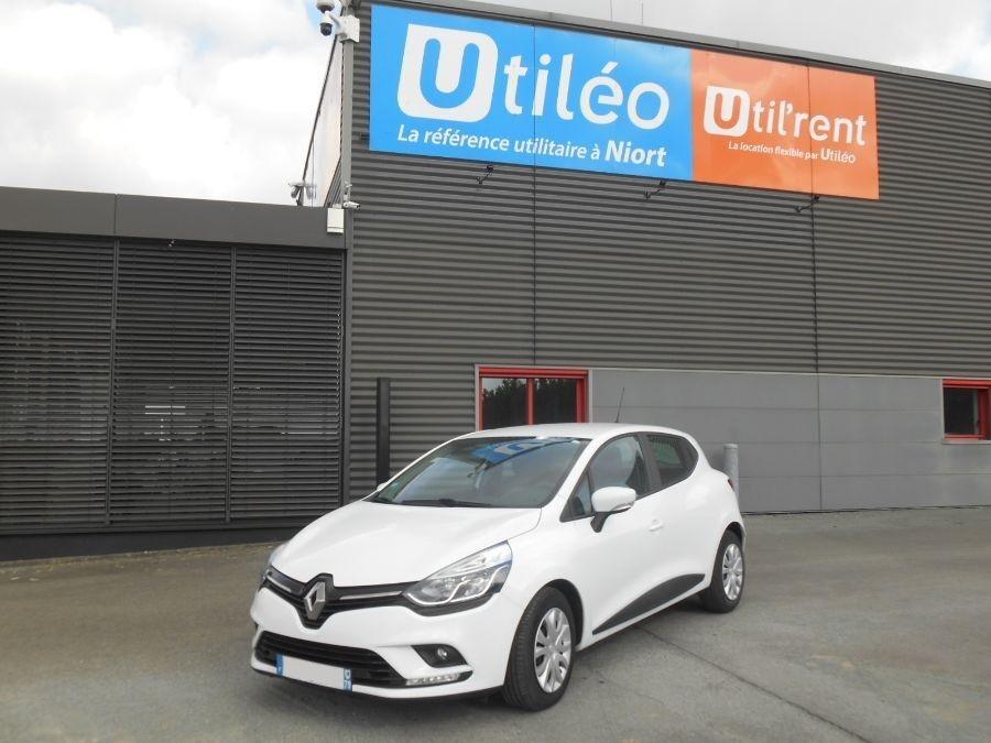 Location d'un véhicule de société - Renault Clio V 2 places -Vue1