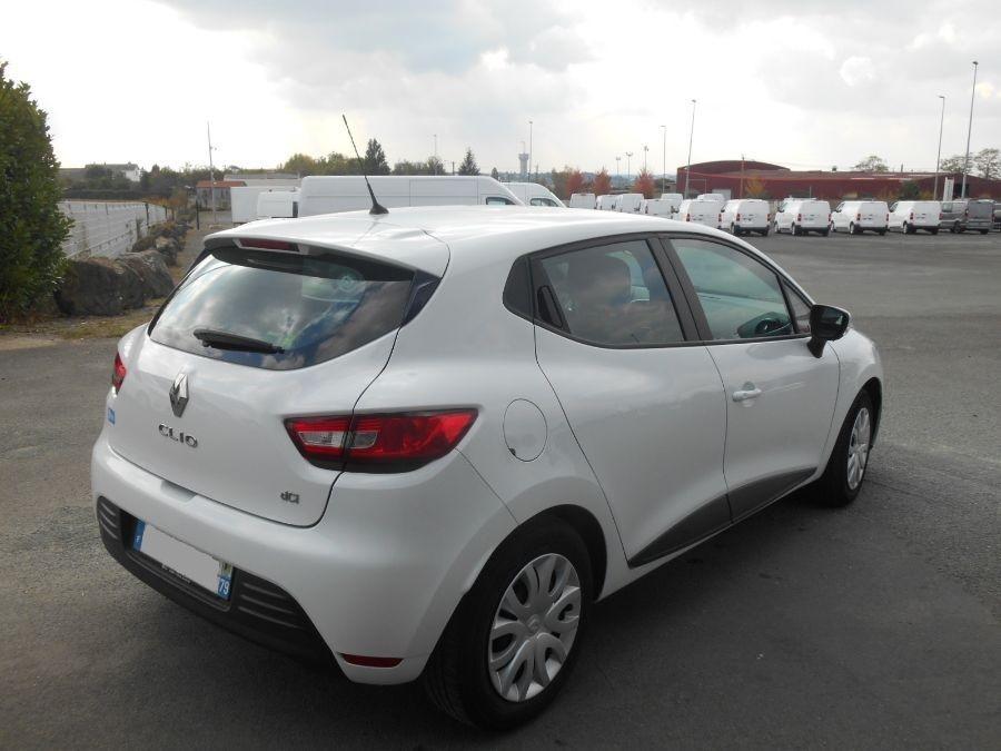 Location d'un véhicule de société - Renault Clio V 2 places -Vue3