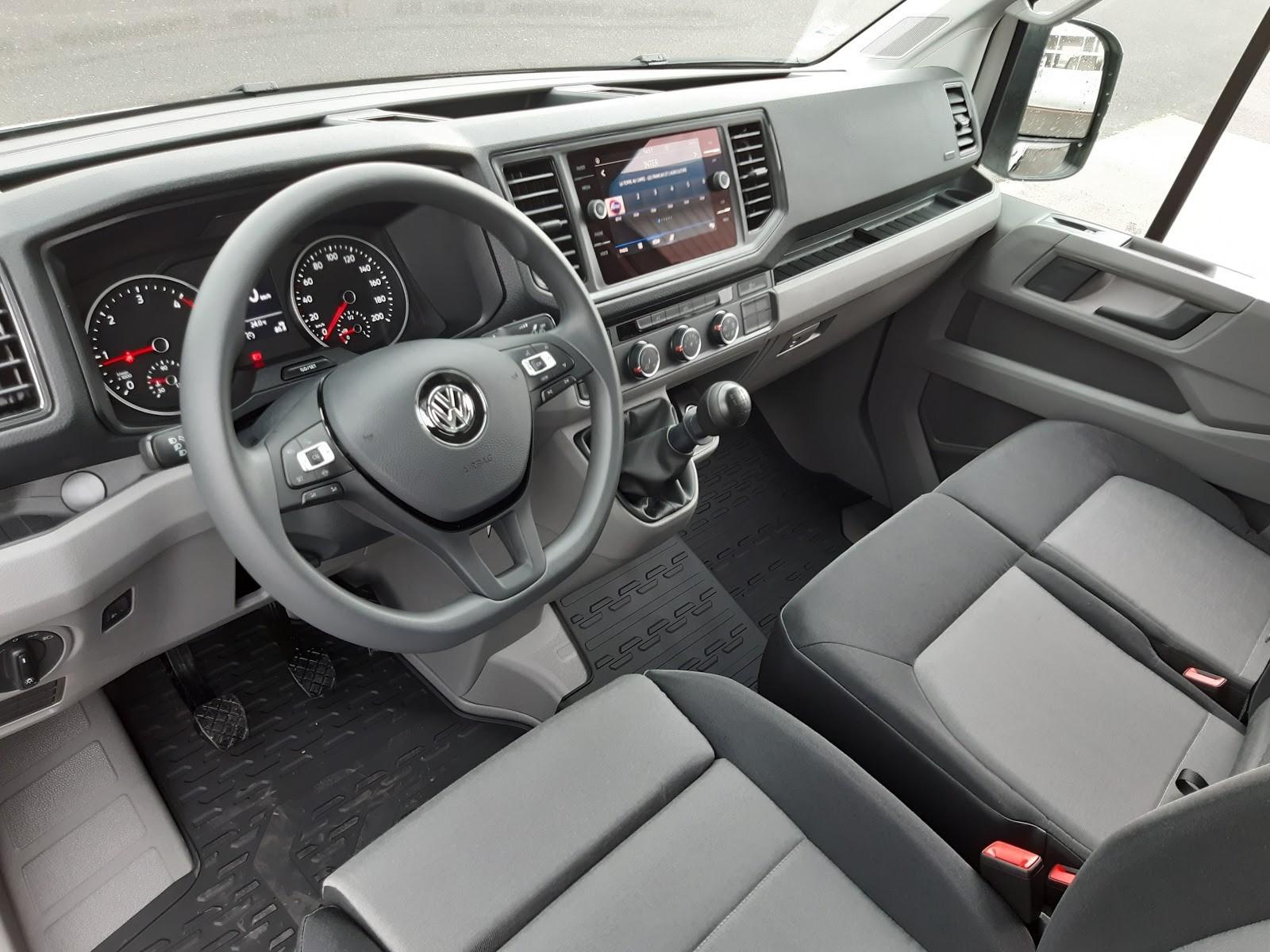 Location longue durée d'un utilitaire benne - Volkswagen Crafter benne - Vue4
