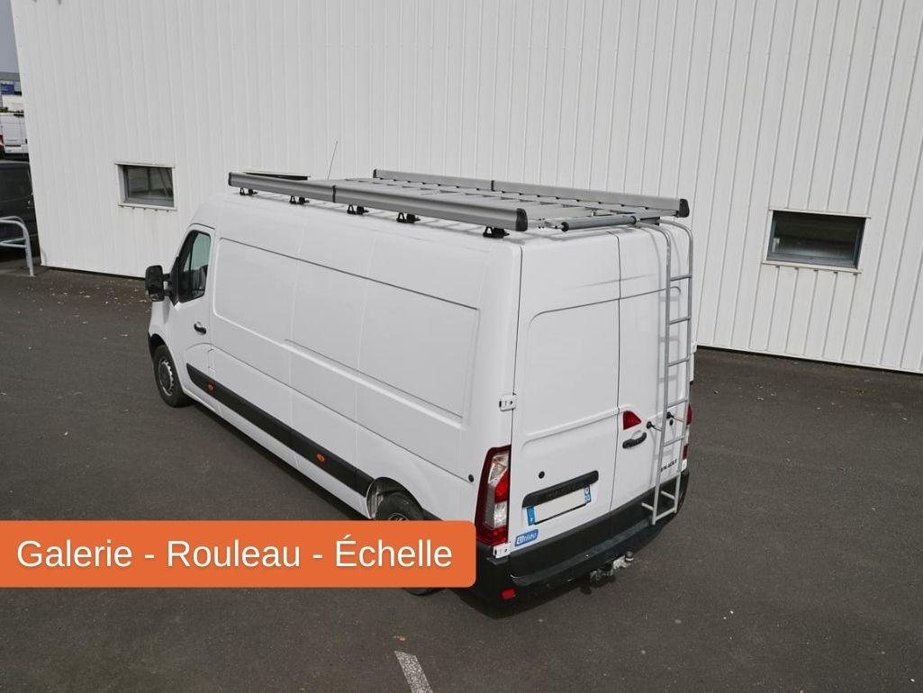 Galerie rouleau échelle pour un véhicule utilitaire