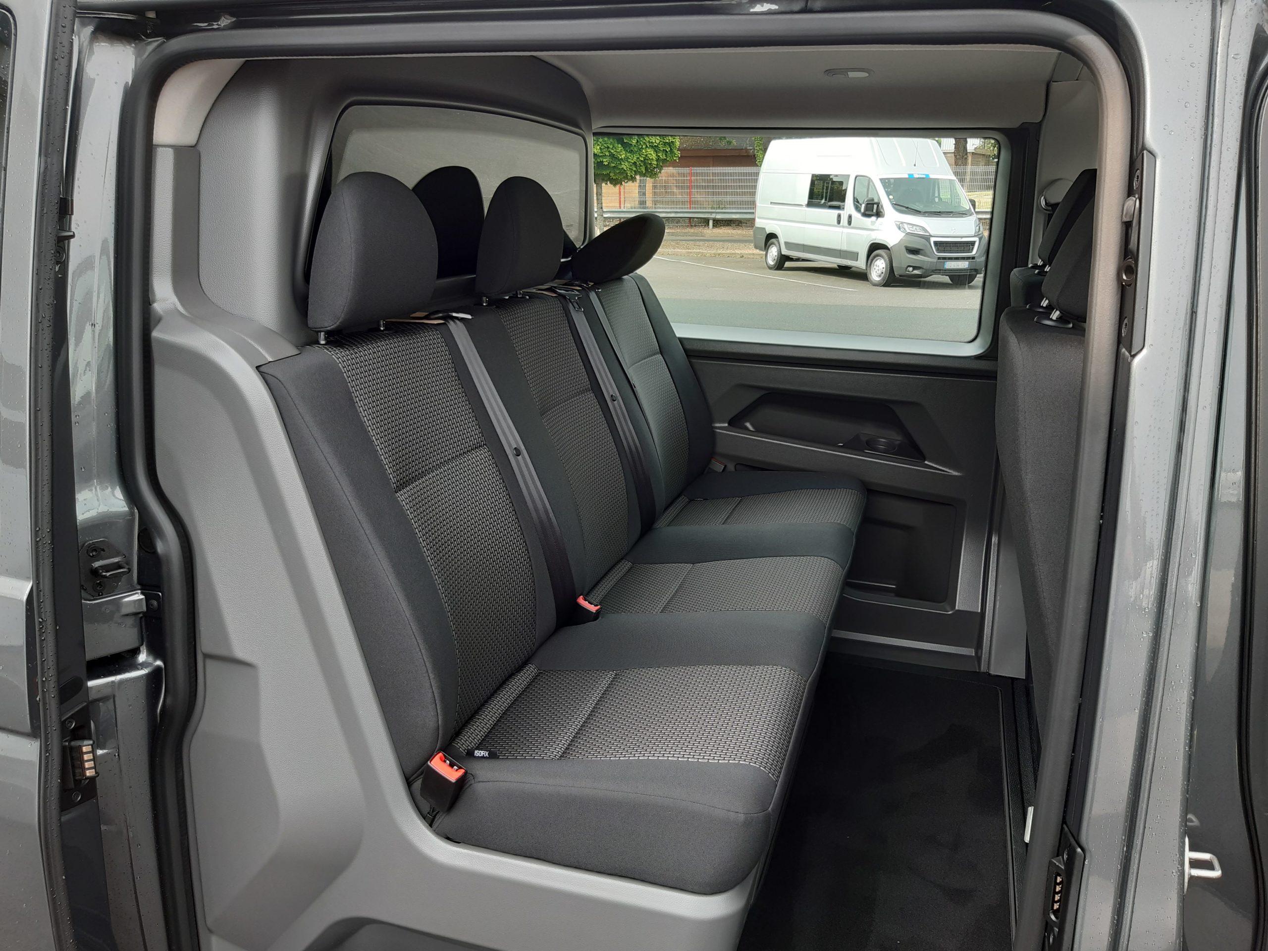 Location d'un fourgon compact double cabine - Volkswagen T6-1 Cabine APP -Vue11