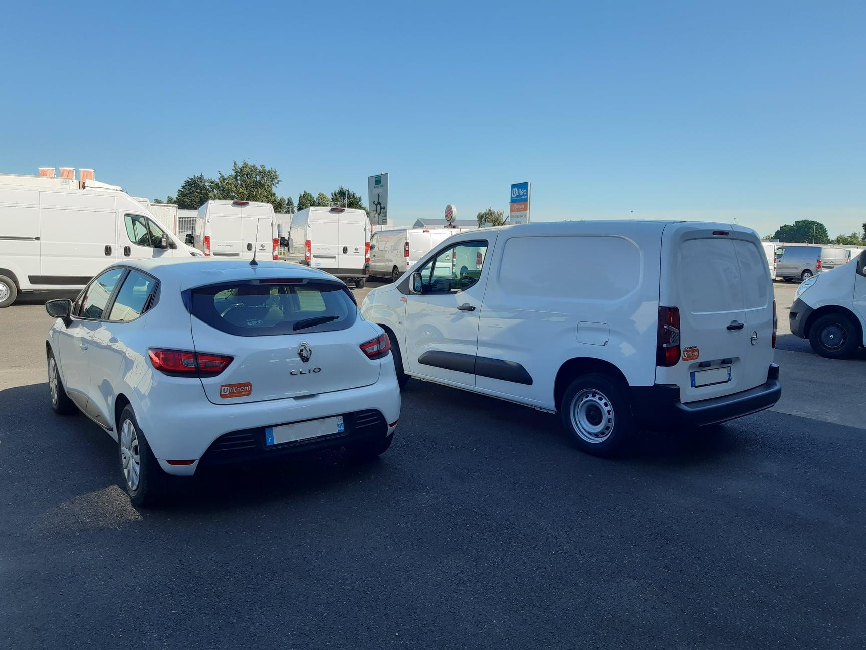 Location d'un fourgon compact et d'un véhicule de société en région Parisienne (92) - Opel Combo LH1 & Renault Clio société - Vue2